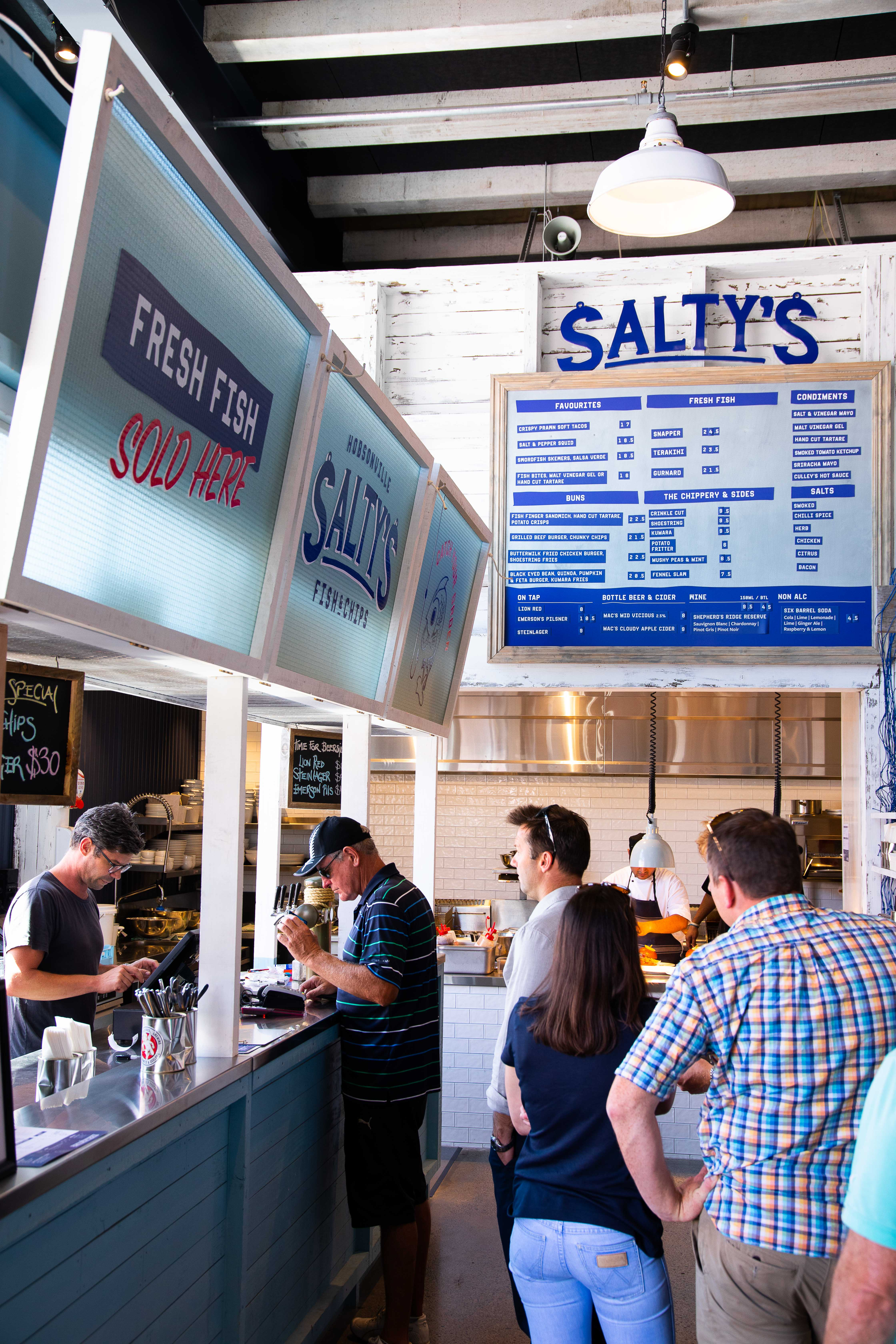 Salty's Fish and Chips