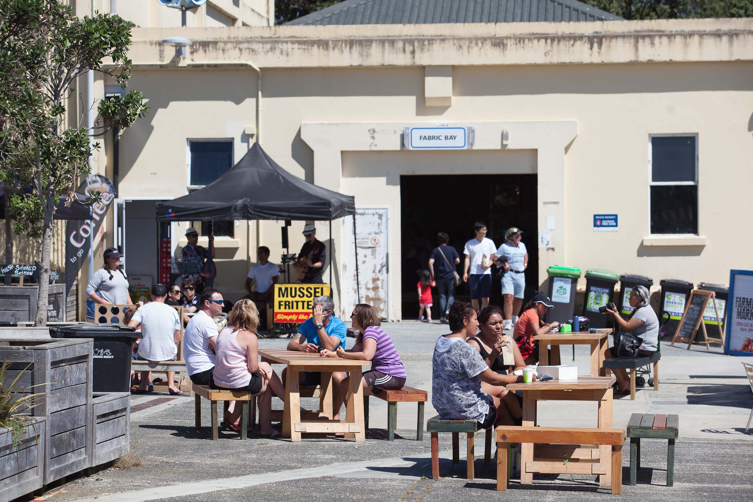 The Farmers Market at Hobsonville Point