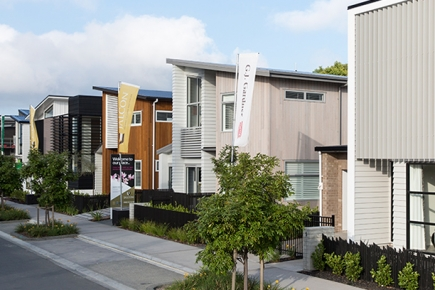 One Street. Eight Show Homes.